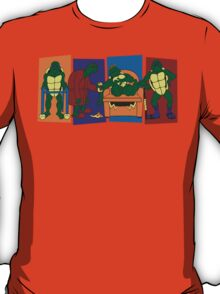 Elderly Mutant Retired Turtles T-Shirt