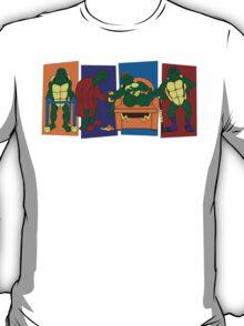 Elderly Mutant Retired Turtles T-Shirt