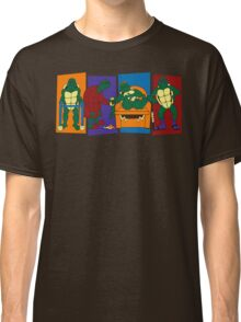 Elderly Mutant Retired Turtles Classic T-Shirt