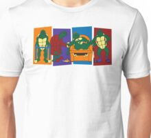 Elderly Mutant Retired Turtles Unisex T-Shirt