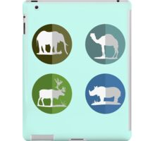 Wild life icons iPad Case/Skin