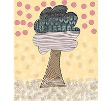 Pattern tree Photographic Print
