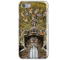 Auch Cathedral pipe organ tower iPhone Case/Skin
