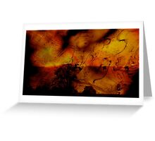 Autumnal Layers .. Greeting Card