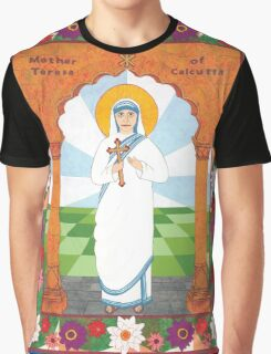 Mother Teresa of Calcutta Icon Graphic T-Shirt