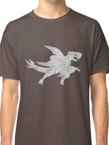 Garchomp - B&W by Derek Wheatley Classic T-Shirt