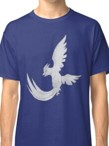 Articuno - B&W by Derek Wheatley Classic T-Shirt