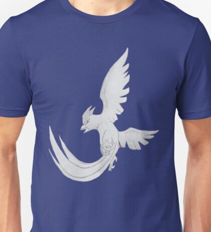 Articuno - B&W by Derek Wheatley T-Shirt