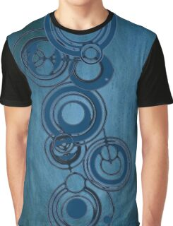 Gallifreyan Graffiti Graphic T-Shirt