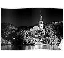 Lake Bled, Slovania Poster
