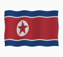 DPRK Flag Kids Clothes