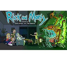 Quintessential Rick and Morty Photographic Print