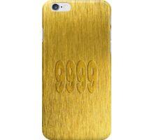 Gold 9999 iPhone Case/Skin
