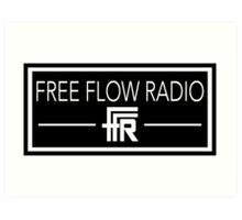 "Free Flow Radio ""Box Design"" Art Print"