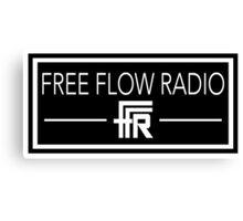 "Free Flow Radio ""Box Design"" Canvas Print"