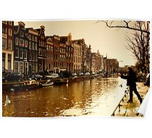 Amsterdam the last days in Autumn Poster