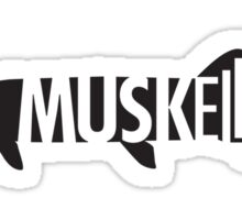 Muskellunge Sticker
