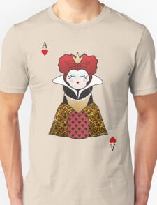 Kokeshi Queen of Hearts Unisex T-Shirt
