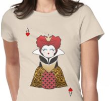Kokeshi Queen of Hearts Womens Fitted T-Shirt