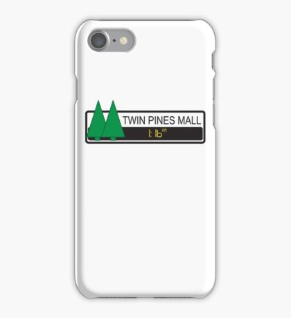 Twin Pines Mall iPhone Case/Skin