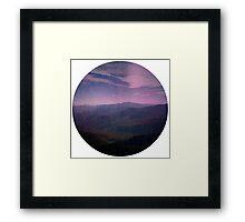 Horizone Framed Print