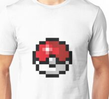 Pixel art Pokeball Unisex T-Shirt