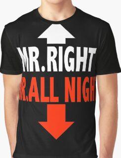 Mr. ALL NIGHT Graphic T-Shirt