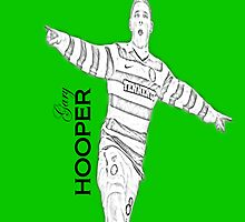 gary hooper sketch effect celtic by ventedanger