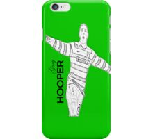gary hooper sketch effect celtic iPhone Case/Skin