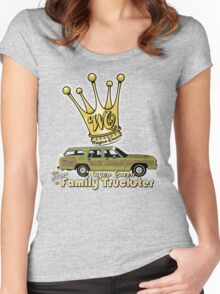 The Wagon Queen Family Truckster Women's Fitted Scoop T-Shirt