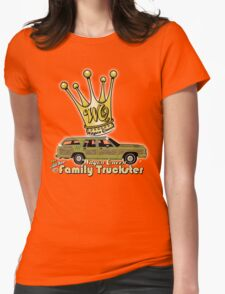The Wagon Queen Family Truckster Womens Fitted T-Shirt