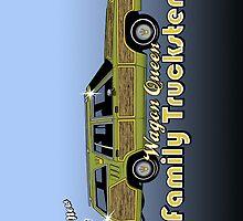 The Wagon Queen Family Truckster by Tom  Ledin