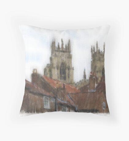 Minster Throw Pillow