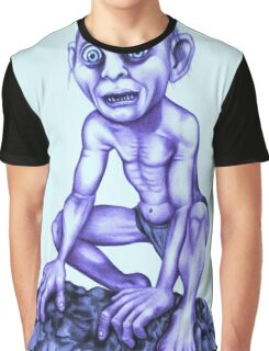Gollum - Lord of the Rings Graphic T-Shirt