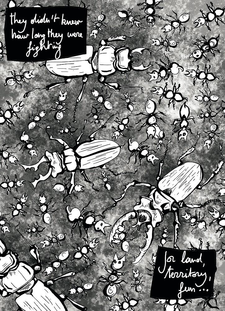 (Bug) War page 1 by PieterDC