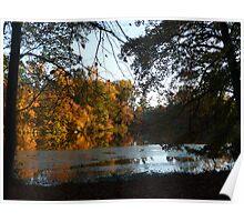 Autumn on Greenbelt Lake 6 Poster
