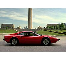 1979 Ferrari 308 GTB - Kansas City Liberty Memorial Photographic Print