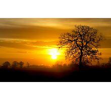 A Norfolk Sunrise Photographic Print