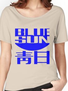 Blue Sun Corporate Logo Women's Relaxed Fit T-Shirt