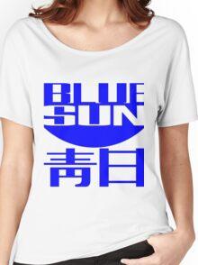 Blue Sun Corporate Logo Women's Relaxed Fit T-Shirt