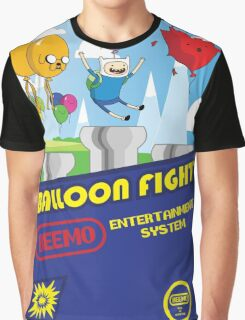 Adventure in Balloon Fighting Graphic T-Shirt