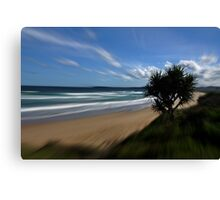 Focal Zoom Canvas Print