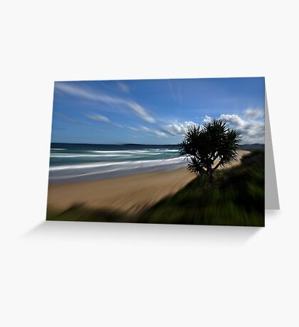 Focal Zoom Greeting Card