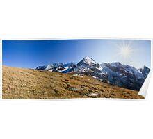 Alpine Sun Poster