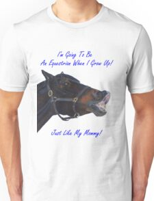 I'm Going To Be An Equestrian - Kids & Toddler T-Shirts & Clothing Unisex T-Shirt