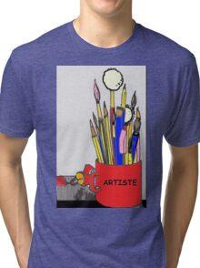 ARTISTE TOOLS Tri-blend T-Shirt
