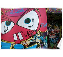 Paris Graffiti 2011 X Poster