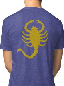 DRIVE SCORPION (GOLD) Tri-blend T-Shirt