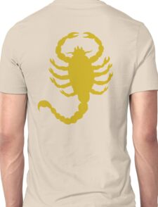 DRIVE SCORPION (GOLD) Unisex T-Shirt