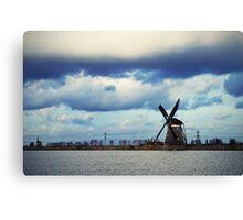 Typically Dutch view Canvas Print
